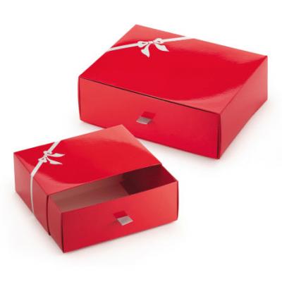 bru boite cadeau rouge Caramelle